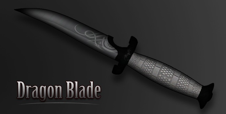 Скачать Dragon Blade Knife для CS:GO, CSGO